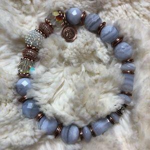 Hillberg & Berk Sparkle Ball Luxe Bracelet